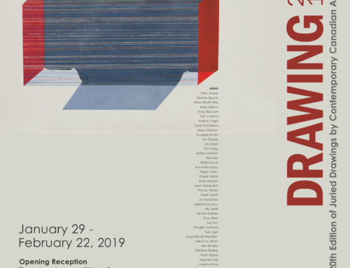 DRAWING 2019: The 20th Edition of Juried Drawings by Contemporary Canadian Artists