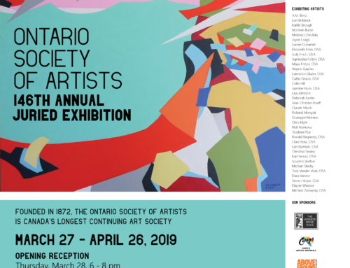 Ontario Society of Artists 146th Annual Juried Exhibition