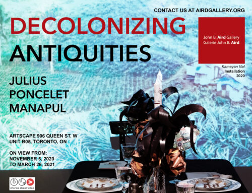JULIUS PONCELET MANAPUL: DECOLONIZING ANTIQUITIES